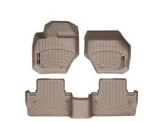 20102016 Volvo XC60Weathertech Floor LinersFull Set Includes 1st and 2nd Row Tan *** Visit the image link more details.