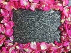 Flower golden art with roses @ dariachupinina