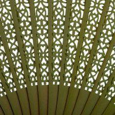 13 Sandalwood Fan Favors BULK - Lime Green [402142 KW Lime Green Sandalwood] : Wholesale Wedding Supplies, Discount Wedding Favors, Party Favors, and Bulk Event Supplies
