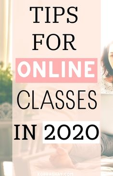 Tips and tricks for online classes in 2020 College Life Hacks, Life Hacks For School, School Study Tips, School Tips, College Tips, School Stuff, College Success, Online College Classes, Online School Supplies