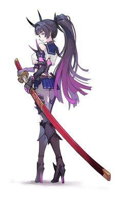ArtStation - Demonic Suit Mei, Kai He