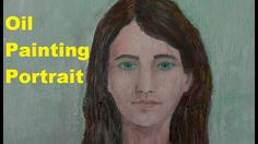 Oil Painting Girl Portrait #Videography