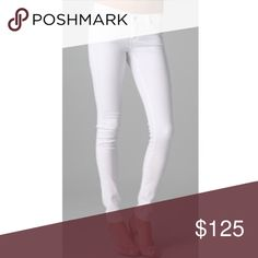 AG The Legging Super Skinny (25) The BEST white jeans | 25 | like new condition | discontinued color/style combo | offers welcome AG Adriano Goldschmied Jeans Skinny