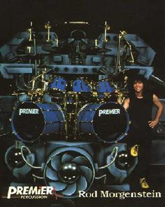 Primier Drums - Rod Morgenstein