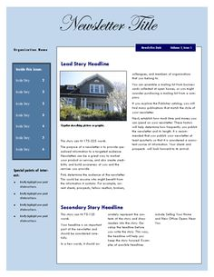 24 hour daily planner with notes and tasks list office for Realtor newsletter templates