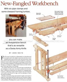 Workbench Plans - Workshop Solutions