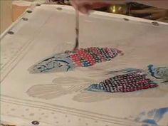 Wax / Batik Technique: Silk Painting with Jill Kennedy