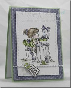 The Tiny Blue Butterfly: Getting Ready Card Making Inspiration, Making Ideas, Christmas Themes, Christmas Cards, Mo Manning, Penny Black, Lily Of The Valley, Blue Butterfly, Kids Cards