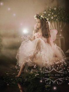 Enchanted Garden Fairy Portraits by Alicia Birch Photography