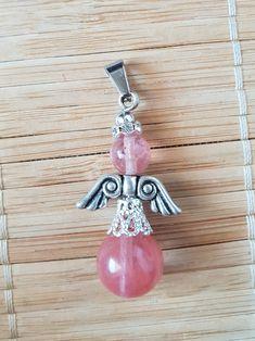 Nydelig anheng i Tibetansk sølv og Rosenkvarts for deg som liker rosa, engler og nydelige krystaller Belly Button Rings, Jewelry, Fashion, Angel, Moda, Jewlery, Bijoux, La Mode, Jewerly