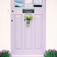 Some very pretty things are on the @aptapothecary blog today (including this lovely lavender door belonging to the brilliant @fayelikesnicethings ) Go soak up some film goodness and discover the wonderful @atmine while you're at it. #floral #stylingtheseasons #atmine #interiors #flowers #lavender #filmisnotdead #filmphotography #35to220 #35mm #kodakportra #filmcommunity #ishootfilm