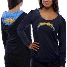 San Diego Chargers Ladies Knit Hoodie