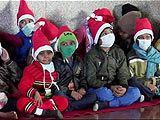 क्रिसमस पर एम्स में कैंसर पीड़ितों बच्चों के लिए खास जश्न