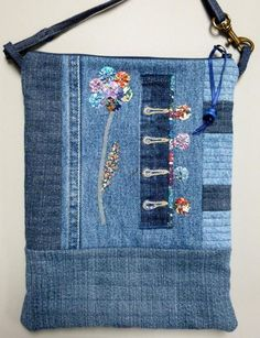 Liberty Flower Bag | Craftsy