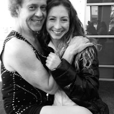How Richard Simmons makes me smile. His energy is contagious!