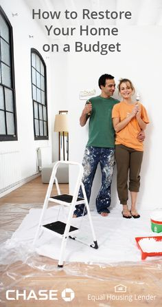 Considering renovating your home? See how these homeowners restored their home on a budget.