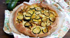 Torta rustica di zucchine e ricotta