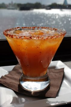 Mango Fire Margarita--San Angel Inn, Epcot, Disney World.  I STILL think about this drink and it's been nearly a year.  I miss you Mango Fire Margarita...