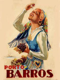 'Portugal, Lisbon - Retro travel print ⛔ HQ-quality' Framed Print by Alex ⛵ Air Vintage Wine, Vintage Labels, Vintage Ads, Vintage Stuff, Pin Up Posters, Decoupage Vintage, Vintage Trends, In Vino Veritas, Vintage Travel Posters