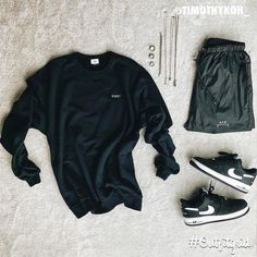 Outfitgrid started as a way of bringing the community together to showcase style. Polo Outfit, Outfit Grid, Swag Outfits Men, Casual Outfits, Hypebeast Outfit, Streetwear Shorts, Hype Clothing, Mens Attire, Next Clothes