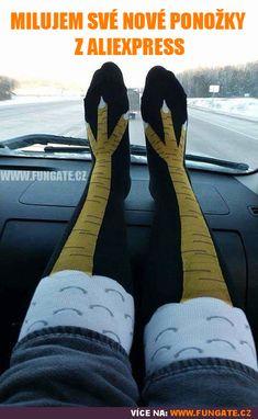 Milujem své nové ponožky z AliExpress
