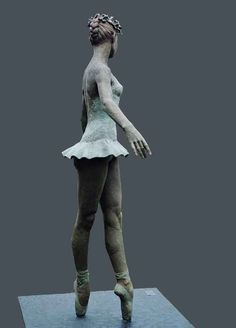 Bronze Sculpture of Classical Ballerina is a Limited Edition of Bronze