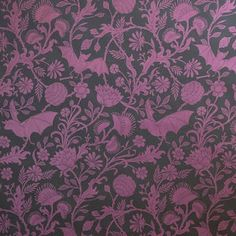 """Wallpaper design by William Morris, Elysian Fields """"paradise waits in these immortal fields of bliss."""""""