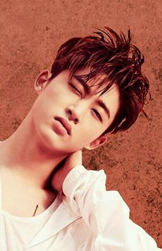 Hanbin is so beautiful