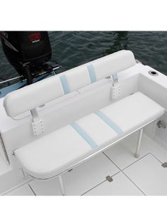 Boat Plans 346284658843266521 - Take your boating and fishing experience to a whole new level with Folding Rear Bench Seat of Birdsall Marine Design. Satisfaction is guaranteed. Source by Make A Boat, Build Your Own Boat, Plywood Boat Plans, Wooden Boat Plans, Boat Seats, Jon Boat, Duck Boat, Boat Dock, Boat Building Plans