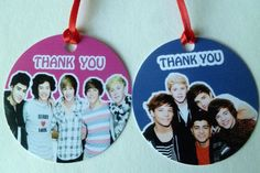 Twenty One Direction Thank You Tags 20 | eBay