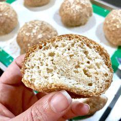 Psyllium Husk Rolls - The Life With Lily Egg Free Recipes, Baking Recipes, Keto Recipes, Bread Recipes, Coconut Flour Bread, Almond Flour Recipes, Protein Bread, Low Carb Bread, Psyllium Husk Recipe