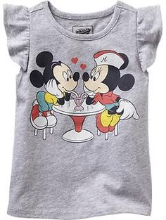 Disney© Mickey and Minnie Mouse Tees for Baby | Old Navy