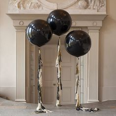 glitz and glam tassel tail balloon by bubblegum balloons | notonthehighstreet.com