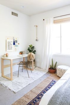 mini bedroom office