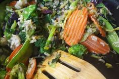 Trader Joe's Miso Vegetables and Brown Rice Sauté Kit Broccoli, Spinach, Snow Peas, Good Ol, Trader Joes, Brown Rice, Kale, Sprouts, Cabbage