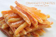 Faire ses oranges confites ou orangettes très facilement Snack Recipes, Dessert Recipes, Healthy Recipes, Snacks, Orange Confit, Cuisine Diverse, Cake Factory, Candied Fruit, Fruit And Veg