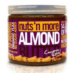 Cinnamon Raisin Almond Butter - 454g - Made with the freshest almonds and packed with whey protein for an added protein punch, this rich and creamy spread is a sensation not to be missed.