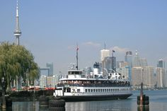 For the cost of $7 each, you get yourselves a ferry ride to and from the Toronto Islands