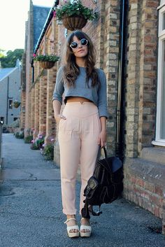 Seriously loving her style - the little magpie