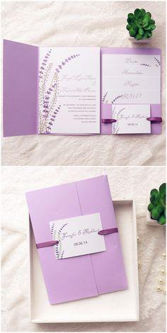 Top 10 Pocket Wedding Invitation Kits For Spring 2017