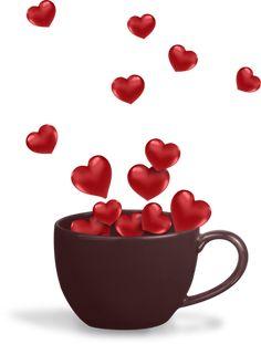 "Photo from album ""Valentine's Day / День святого Валентина"" on Yandex. Love Heart Images, I Love Heart, My Love, Happy Heart, Morning Love, Good Morning Coffee, Morning Gif, Morning Quotes, Coffee Heart"