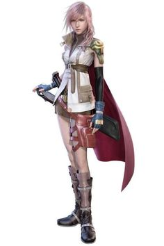 Tomsuit Japanese Anime Final Fantasy VIII Lightning by wincosplay