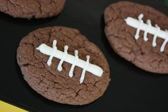 Cute Football party ideas