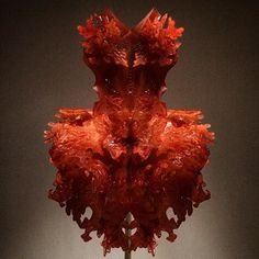 Went to the #manusxmachina exhibit at the Met and it was amazing. This GORGEOUS Iris Van Herpen 3D printed resin dress was a highlight! by schmistopher