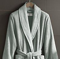 Luxurious Robe From Restoration Hardware With Monogram