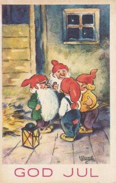 Troll, Baumgarten, Leprechaun, Goblin, Beautiful Christmas, Elves, Gnomes, Norway, Scandinavian