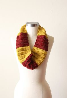 Gryffindor cowl scarf - this is about as nerdy as I get.