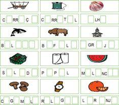 coloca-a-vogal-que-falta-14 Calendar, Comics, Holiday Decor, Atv, Professor, Word Families, Word Formation, Worksheets, Dyslexia
