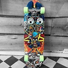 Earthwing Raisin Hell Complete with Caliber Standard trucks, Remember Lil' Hoots Longboard Decks, Longboards, Skateboards, Raisin, Wings, Trucks, Long Boarding, Skateboard, Truck