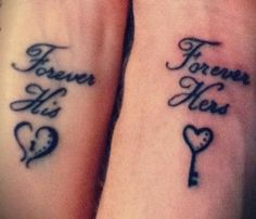 Vergeet de trouwring, neem een matching tatoeage